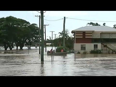 العرب اليوم - شاهد: فيضانات جارفة تجتاح أستراليا