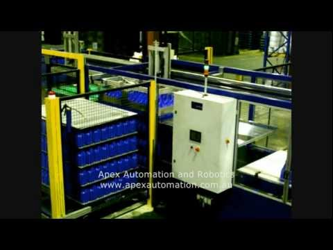 APEX DP 500 Depalletiser