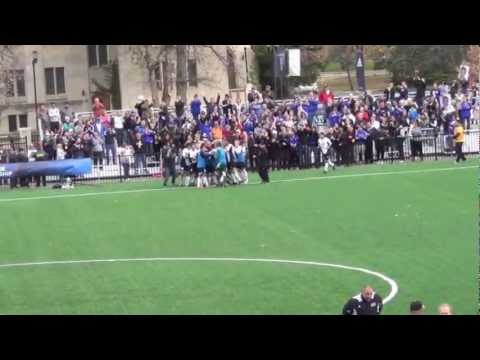 Dominican University Men's Soccer Goal to advance to 2012 Sweet 16