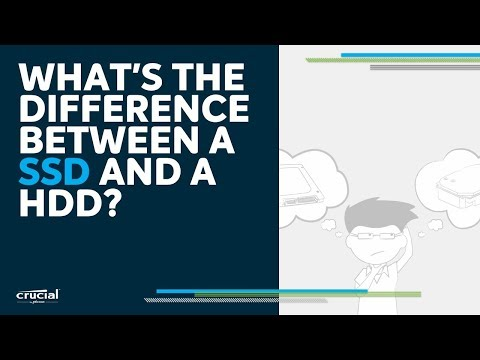 What's the difference between an SSD and a hard drive?