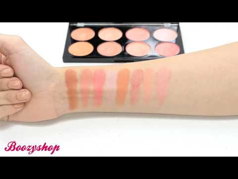 Makeup Revolution Makeup Revolution Ultra Blush Palette Hot Spice