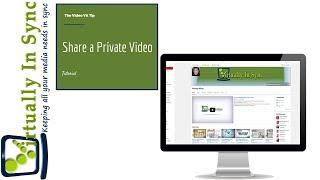 Sharing Audition Videos