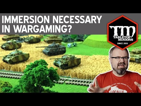 Is Immersion Actually Necessary in Wargaming?