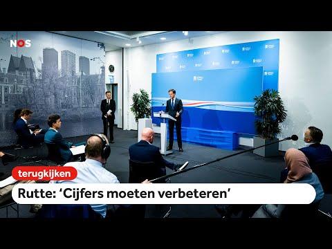 TERUGKIJKEN: Persconferentie premier Rutte na ministerraad