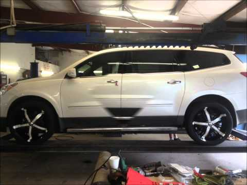 2012 traverse LTZ on 22 inch BZO fortune rims
