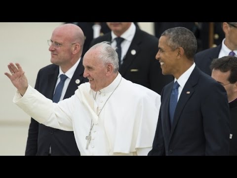 Pope Francis makes historic first U.S. visit