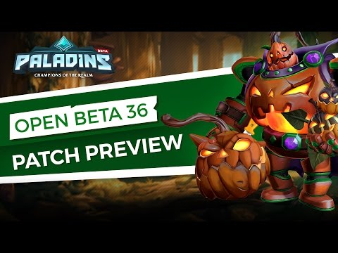 Paladins — Patch Preview — Open Beta 36