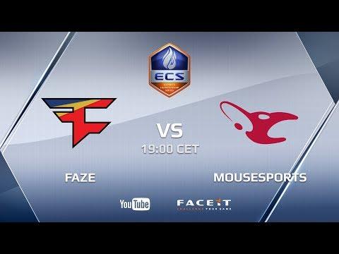 FaZe vs mousesports, ECS Season 5 Europe