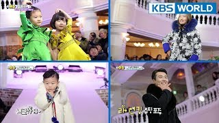 The Return of Superman | 슈퍼맨이 돌아왔다 - Ep.211 : I Cheer on Your Courage [ENG/ESP/IND/2018.02.04]