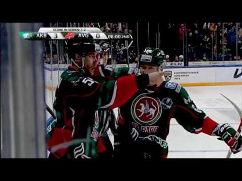 KHL Top 10 Goals for 2017 Gagarin Cup Round 2 (видео)