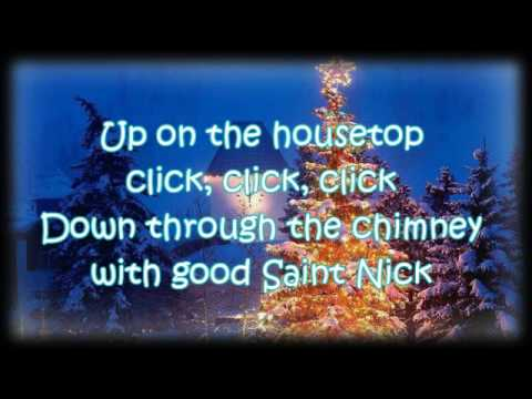 Lyrics gene autry up on the house top for Top house songs ever