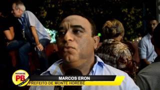 Prefeito de Monte Horebe fala dos problemas financeiros encontrados, luta por convênios, e diz que economizou R$ 600 mil