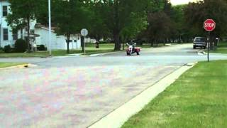 8. New Honda 750 Shadow Aero Trike in Action