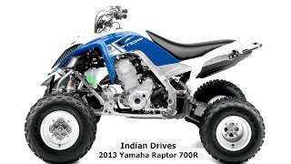 7. 2013 Yamaha Raptor 700R : Racing Bike