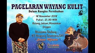 Video #LIVESTREAMING KI BAGONG DARMONO SH SEMAR MANTU Sragen 18 Nov 2018 MP3, 3GP, MP4, WEBM, AVI, FLV November 2018