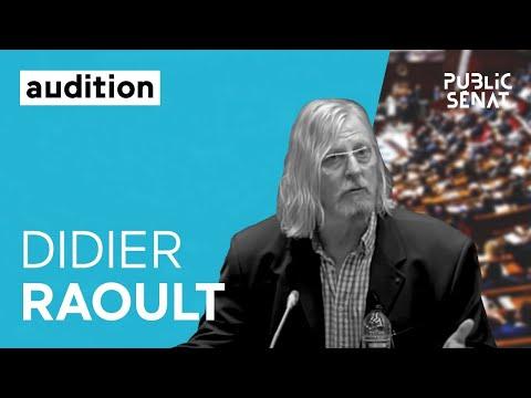 Covid-19 : Audition de Didier Raoult au Sénat