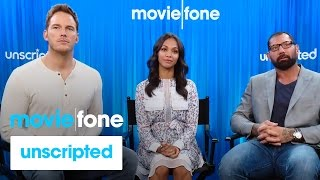 'Guardians of the Galaxy' Unscripted Interview   Moviefone