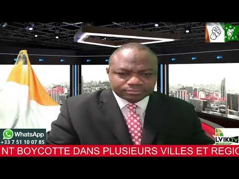 COTE D' IVOIRE:---PARODIE D,ELECTION : LES IVOIRIENS ONT BOYCOTTE DANS PLUSIEURS VILLES ET REGIONS--- L,OPPOSITION NE RECONNAIT PAS LES RESULTATS DE CETTE MASCARADE---LA FRANCE COMPLICE DE OUATTARA--LES PROCHAINES ETAPES---