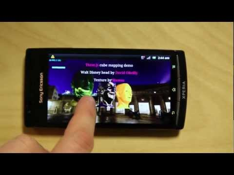 Xperia™ phones first to support WebGL™