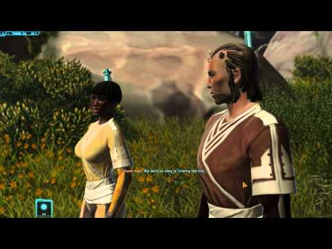 Star Wars: The Old Republic – Walkthrough Part 3 – Slavery! – (PC Gameplay / Commentary)