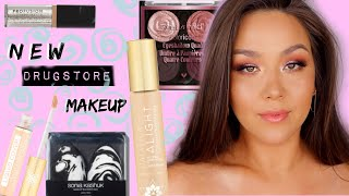 TESTING NEW DRUGSTORE MAKEUP by Danna Ann