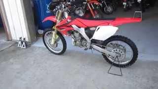 7. 2007 Honda CRF250R For sale