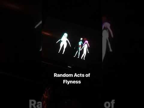 "Adam Lambert's IG story : watching TV Part2 ""Random Acts of Flyness"" on HBO 2018-08-12"