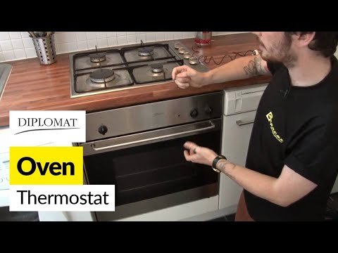 How to replace the oven thermostat in a Diplomat cooker