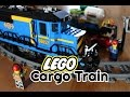 LEGO City Motorized Cargo Train 60052: Unboxing, Review, Build, Demo