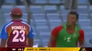 West Indies all out 61 Run Vs Bangladesh