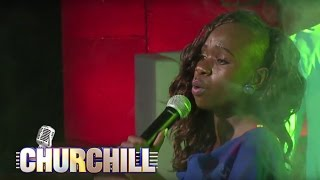 Evelyn Wanjiru Performs Nikufahamu on Churchill Show