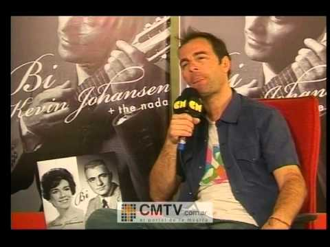 Kevin Johansen video Entrevista - 2012 - Todos los detalles de BI