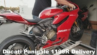 10. 2014 Ducati Panigale 1199R Delivery!