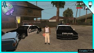 Uy que Malote (  ͡° ͜ʖ ͡°) / GTA San Andreas Gameplay Español - Android