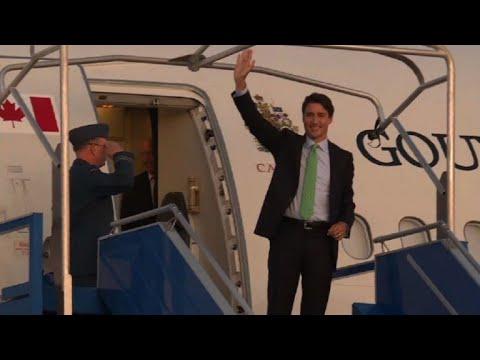G7 Trudeau arrive en France Г la veille du sommet  AFP Images