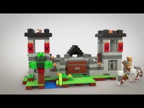 Конструктор Крепость - LEGO MINECRAFT - фото № 9
