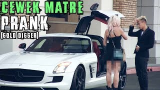 Video CEWE MATRE PRANK! pura2 miskin ternyata.. (Best GOLD Digger Prank) MP3, 3GP, MP4, WEBM, AVI, FLV Juni 2019