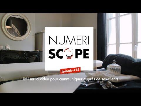 Numériscope #15 Utiliser la vidéo pour communiquer auprès de ses clients