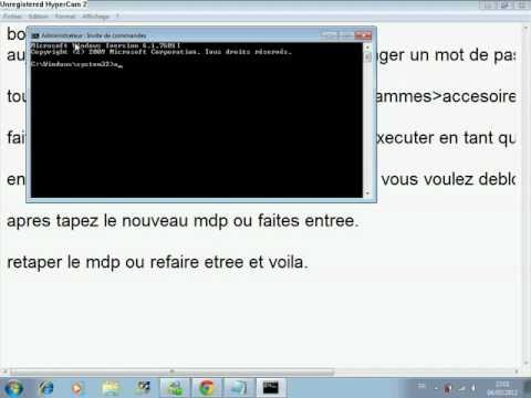 comment debloquer session windows 8