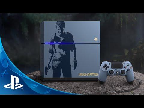 Console PS4 spéciale Uncharted 4 en vidéo