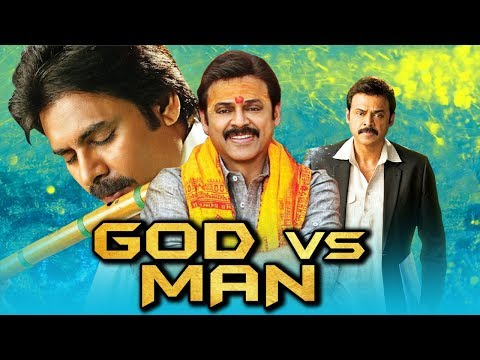 God Vs Man 2019 Telugu Hindi Dubbed Full Movie | Pawan Kalyan, Venkatesh, Shriya Saran, Mithun