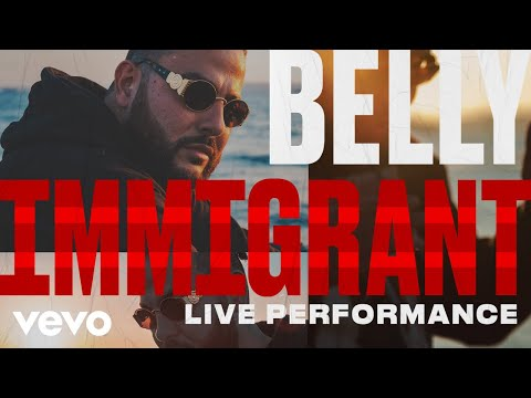 "Belly – Belly Performs ""Immigrant"" Acapella"