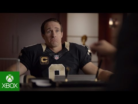 NFL on Xbox: Fantasy Job Interview with Drew Brees Video Thumbnail