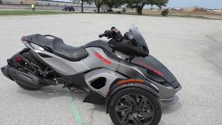 7. 001710 - 2013 Can Am Spyder RSS   SE5 - Used motorcycles for sale