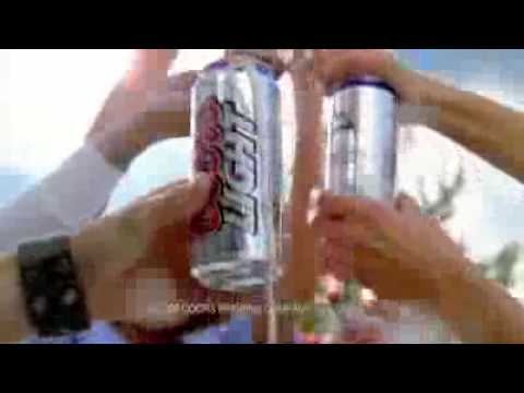 Coors Light Commercial (Official Beer of NASCAR)