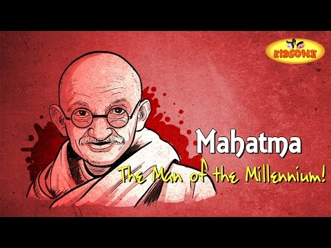 The Man of the Millennium | Mahatma Cartoon Animation | KidsOne