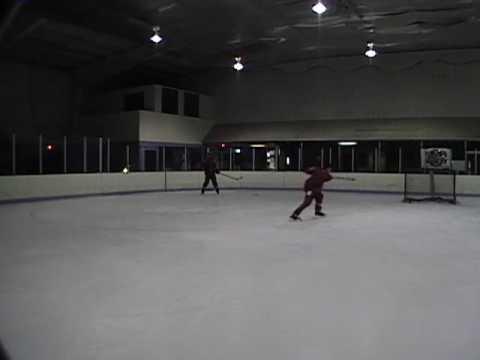 Simple Shooting Hockey Drill