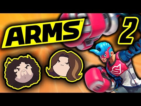 Arms: Hair Fight! - PART 2 - Game Grumps (видео)