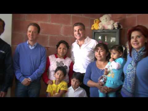 Alcalde Gali y Luis Banck supervisan acciones en Xonacatepec.