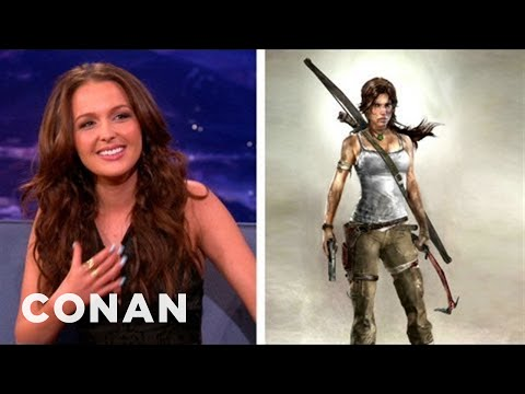 Conan - Camilla Luddington In Tomb Raider